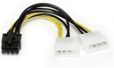 Переходник Molex на PCI-E