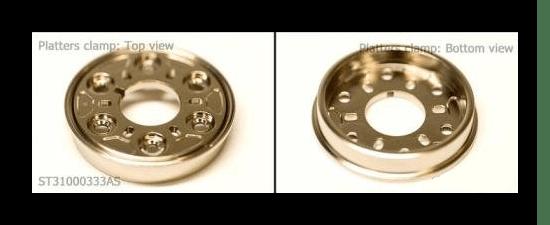 Прижимное кольцо в HDD