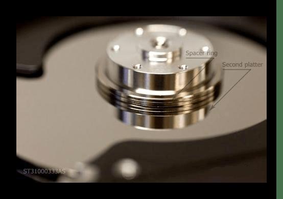 Разделительные кольца в HDD