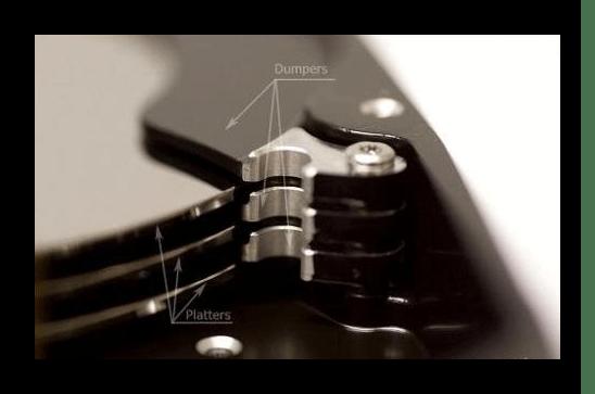 Сепараторы и блины в приближении В HDD