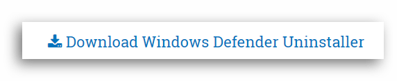 Скачивание Windows Defender Uninstaller с сайта