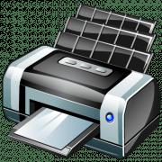 Печать документов на компьютере с помощью пpинтера