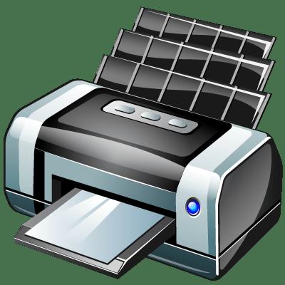 Печать документов на компьютере с помощью принтера