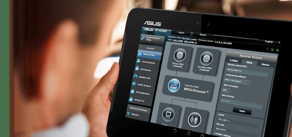 АСУС RT-N12 VP Веб-интерфейс (админка) роутера - ASUSWRT