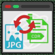 Как конвертировать CDR в JPG файл онлайн