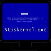 Синий экран смерти при ошибке запуска Ntoskrnl.exe