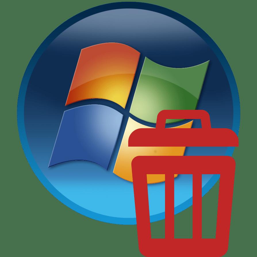Удаление ОС Windows 7