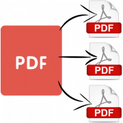 как разделить pdf файл на страницы
