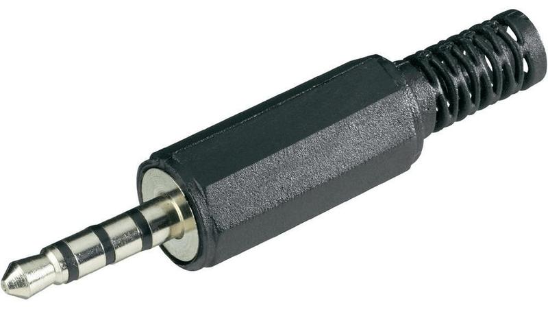 Пример штекера 3.5 mm jack