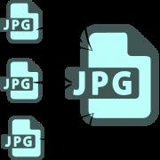 как объединить несколько файлов jpg в один файл