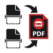 Как сканировать в один файл PDF