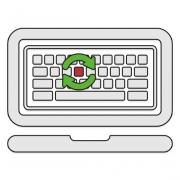 Как снять и вставить клавишу с клавиатуры ноутбука