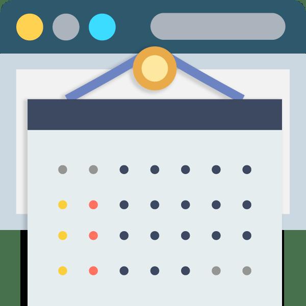 Как создать календарь онлайн