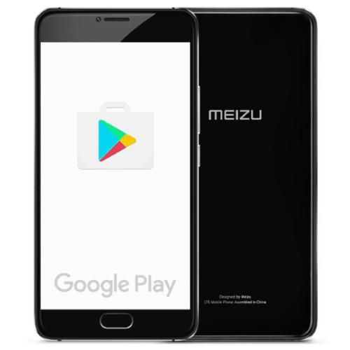 Как установить Google Play Market на смартфон Meizu