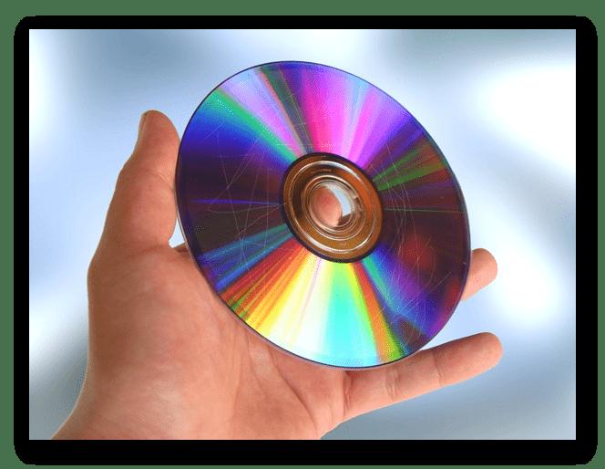 Поцарапанный CD
