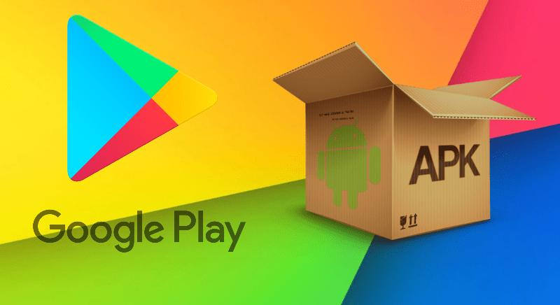 Установка APK-файла Google Play Market