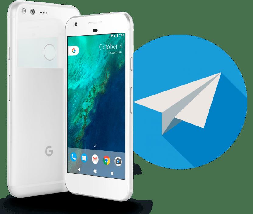Установка приложения Telegram на Android