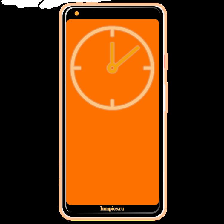 Как установить часы на экран телефона Андроид