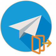 Как выйти из Телеграма
