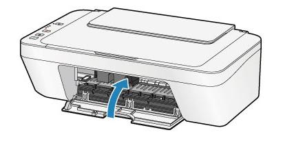Закрытие крышки принтера