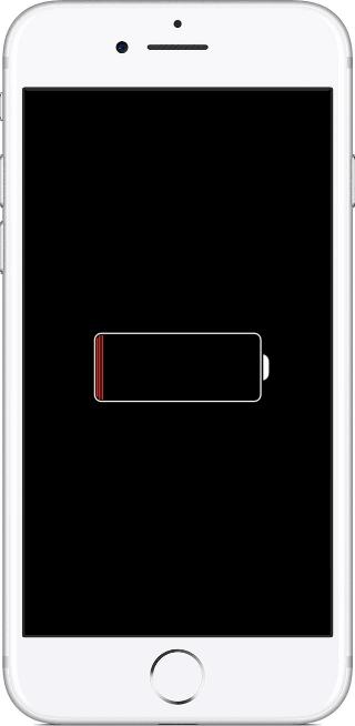 Индикатор зарядки iPhone