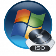 Образ оптического диска ISO в Windows 7