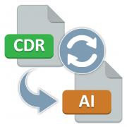 Как конвертировать CDR в AI
