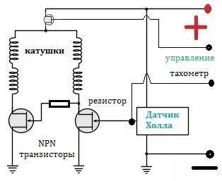 Электрическая схема трехконтактного кулера