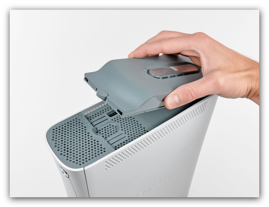Извлечение жесткого диска Xbox 360 Fat