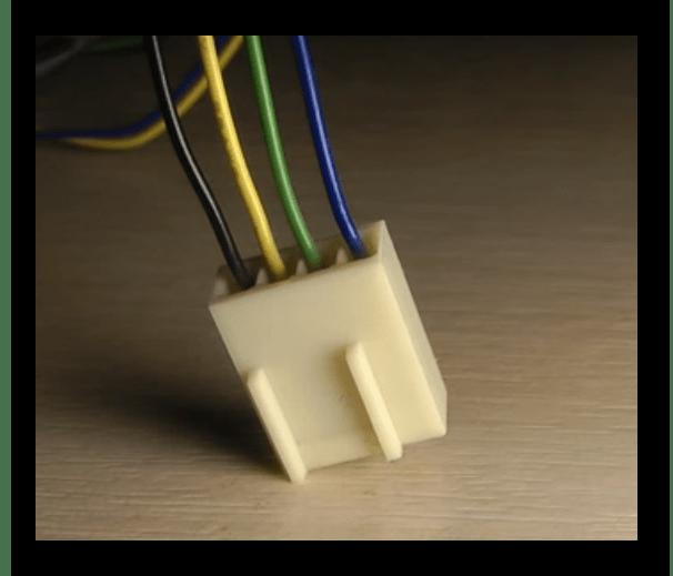 Контакты на 4-Pin кулере