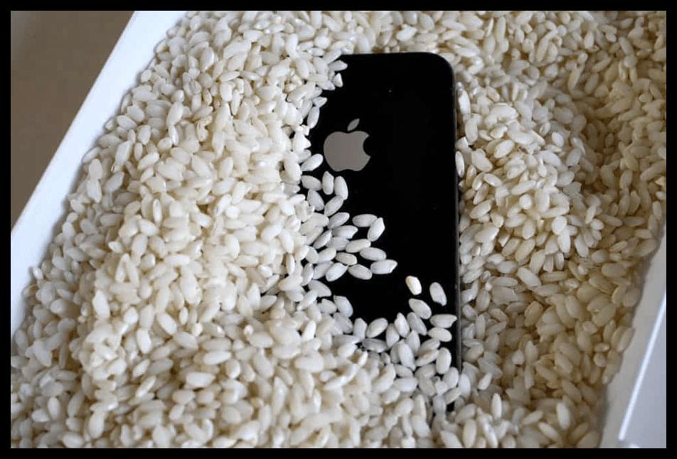 Просушивание iPhone