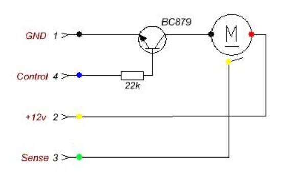 Схема перепайки компьютерного кулера 3-Pin