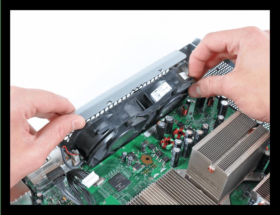 Снятие кулеров Xbox 360 FAT во время разборки