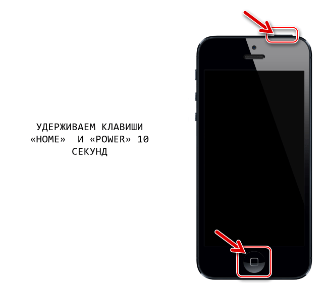 Apple iPhone 4S как переключить смартфон в режим DFU