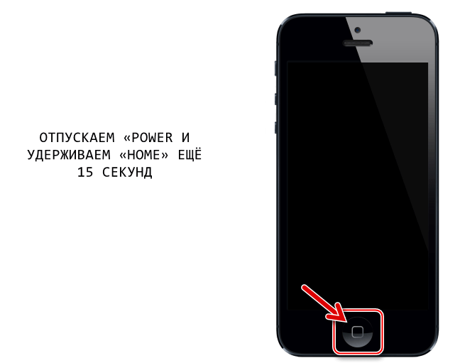 Apple iPhone 4S переключение девайса в режим DFU для прошивки