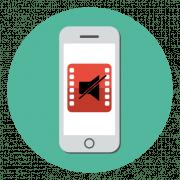 Как убрать звук из видео на iPhone