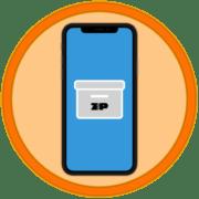 Как открыть ZIP файл на Айфоне