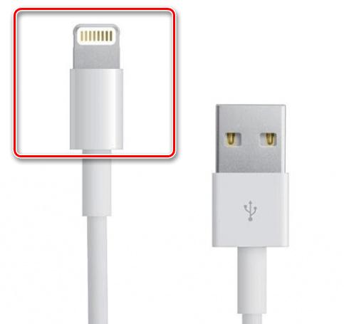 Кабель Lightning для подключения новых моделей iPhone к компьютеру и их зарядке