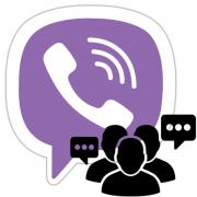 Как создать группу в Viber