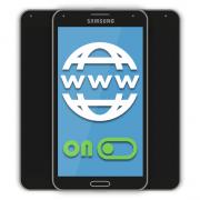 Как включить интернет на Самсунге