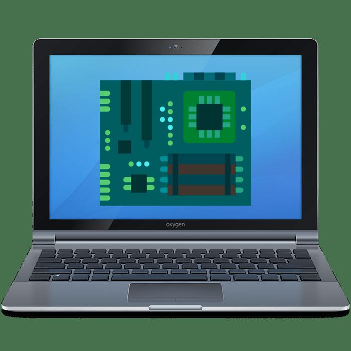 Как узнать модель материнской платы на ноутбуке