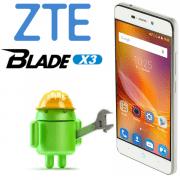 Прошивка ZTE Blade X3