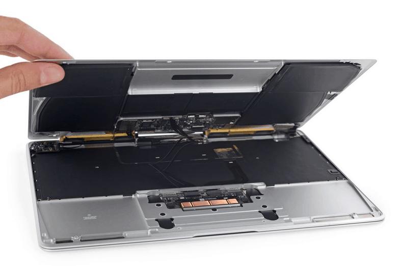 Ремонтопригодность Apple macbook