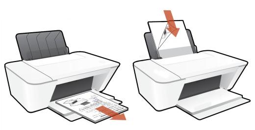 Ручное выполнение двусторонней печати на принтере