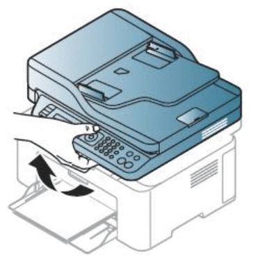 Снятие модуля сканера с лазерного принтера компании Samsung
