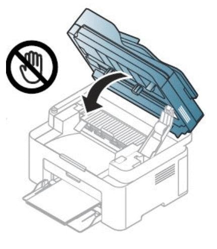 Закрытие модуля сканера лазерного принтера компании Samsung