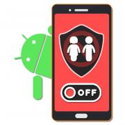 Как отключить родительский контроль на Андроиде