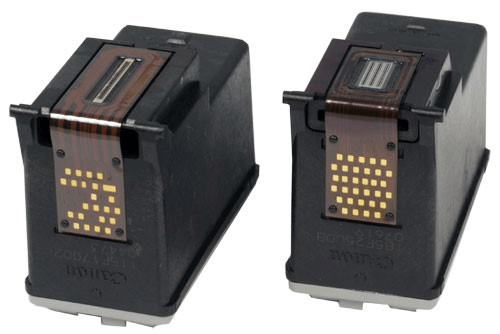 Сопла на картиджах для лазерного принтера
