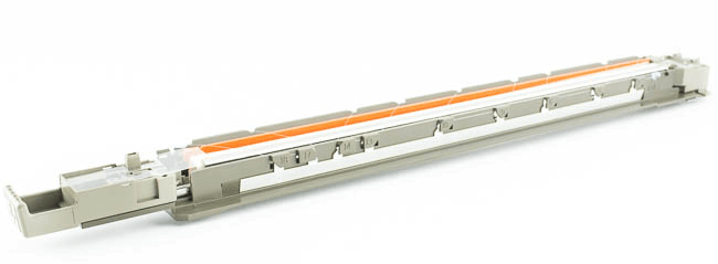 Внешний вид коротрона лазерного принтера