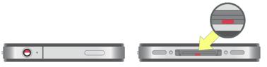 Индикатор попадания жидкости в iPhone 4S